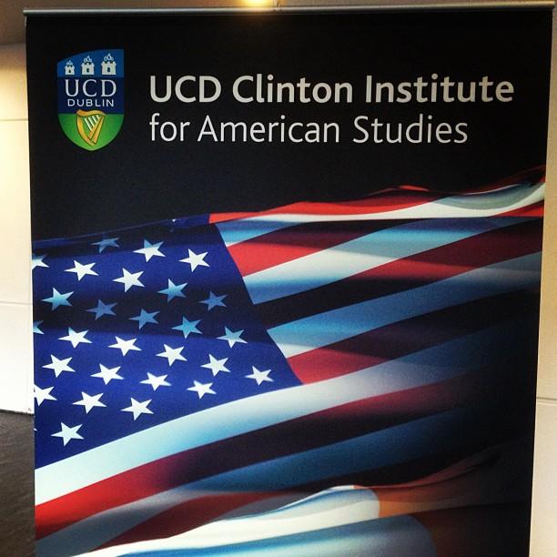 20121117 UCD Clinton Institute