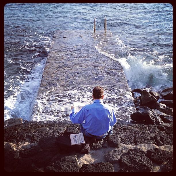 20121214 Seaside reading
