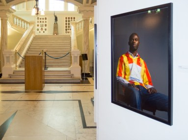 Belonging Project exhibition, Belfast City Hall, Northern Ireland http://thebelongingproject.org