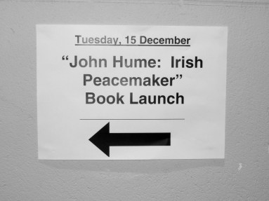 John Hume: Irish Peacemaker book launch (c) Allan LEONARD @MrUlster