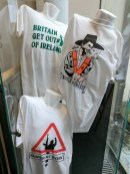 Political t-shirts (c) Allan LEONARD @MrUlster
