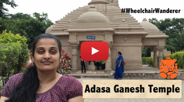 Wheelchair access review: Adasa Temple near Nagpur