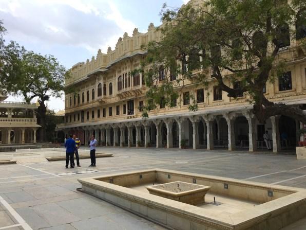 Courtyard at Zenana Mahal