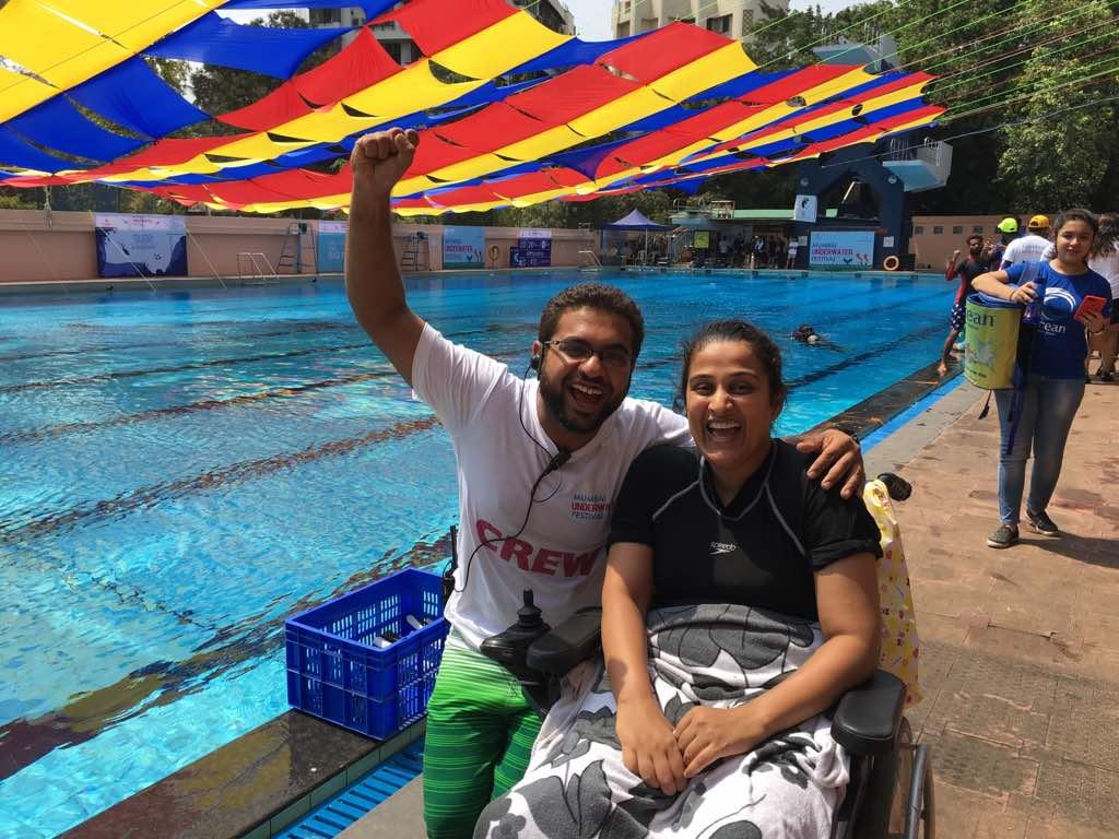 Selfie with my instructor Kshitiz Mittal