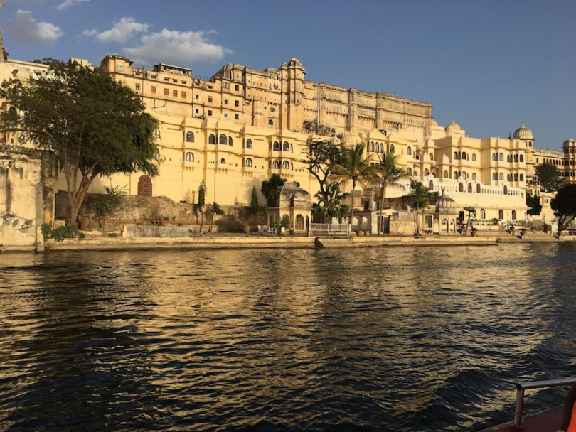 Glorious Udaipur City Palace by Lake Pichola