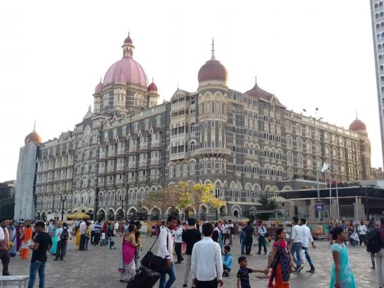 The Taj Mahal Hotel, opposite Gateway of India