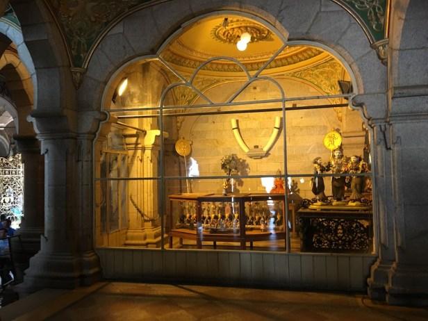 Display inside the Mysore Palace