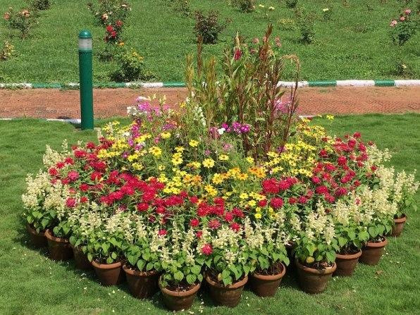 Mysore Palce garden2