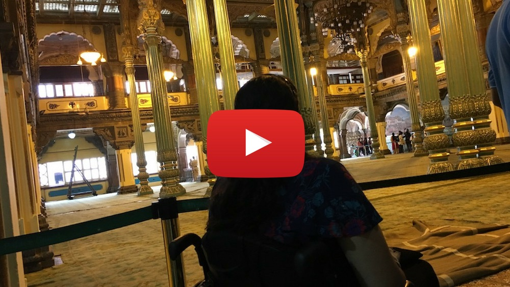 Video: Mysore Palace on wheelchair