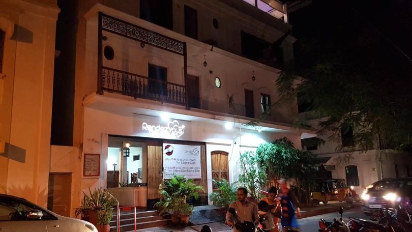 Ground floor entrance Café Rendezvous