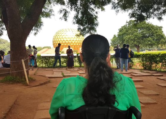 Matri Mandir Pondicherry