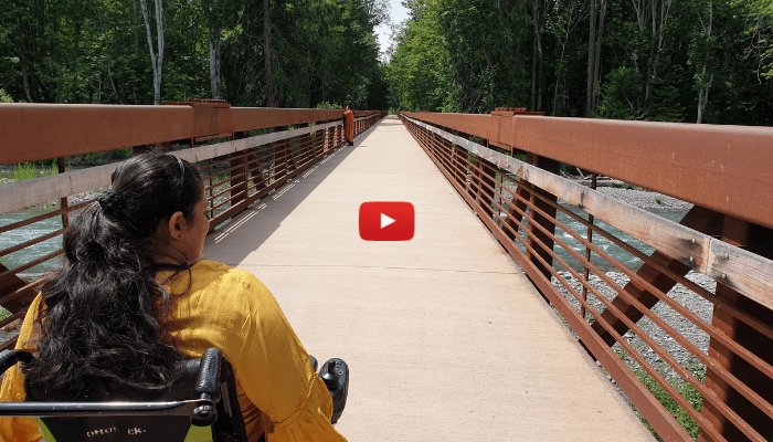 Video: Olympic Discovery Trail on my wheelchair