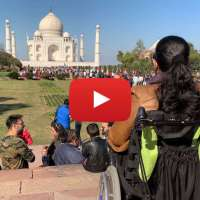 Video: Wheeling through the Taj Mahal