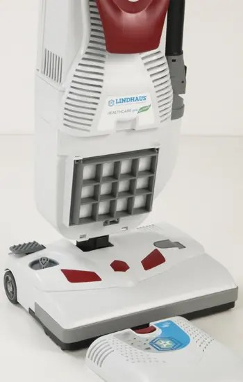 HEALTHCARE PRO HEPA FILTRATION VACUUM BY LINDHAUSE