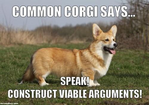 Common Corgi - speak