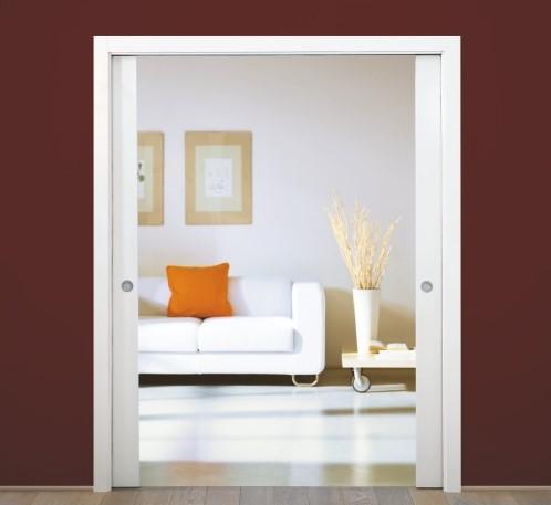 Modern conveniences - Pocket door system from Pocket Door Shop