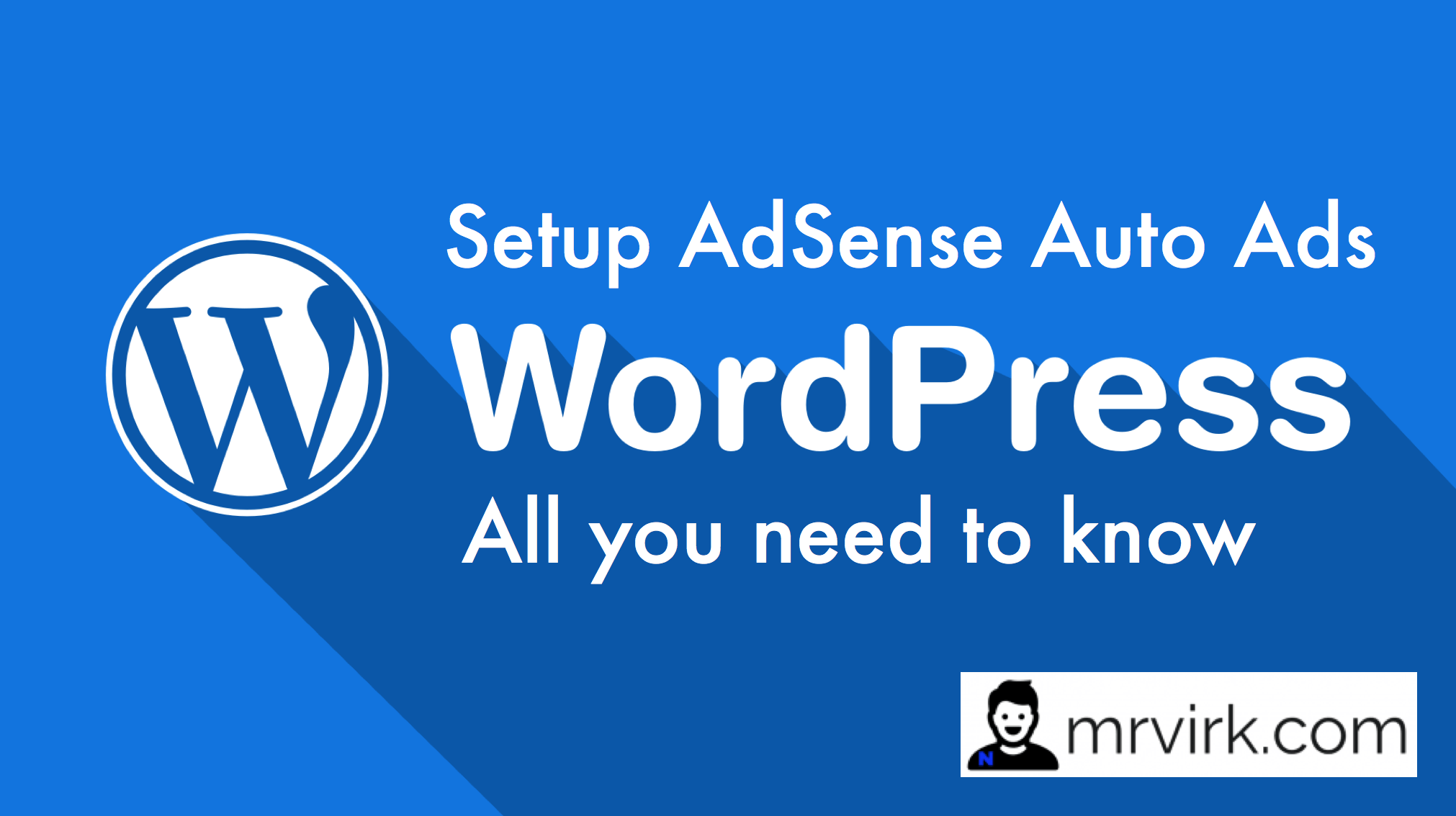 How to Setup Adsense Auto Ads in Wordpress ?