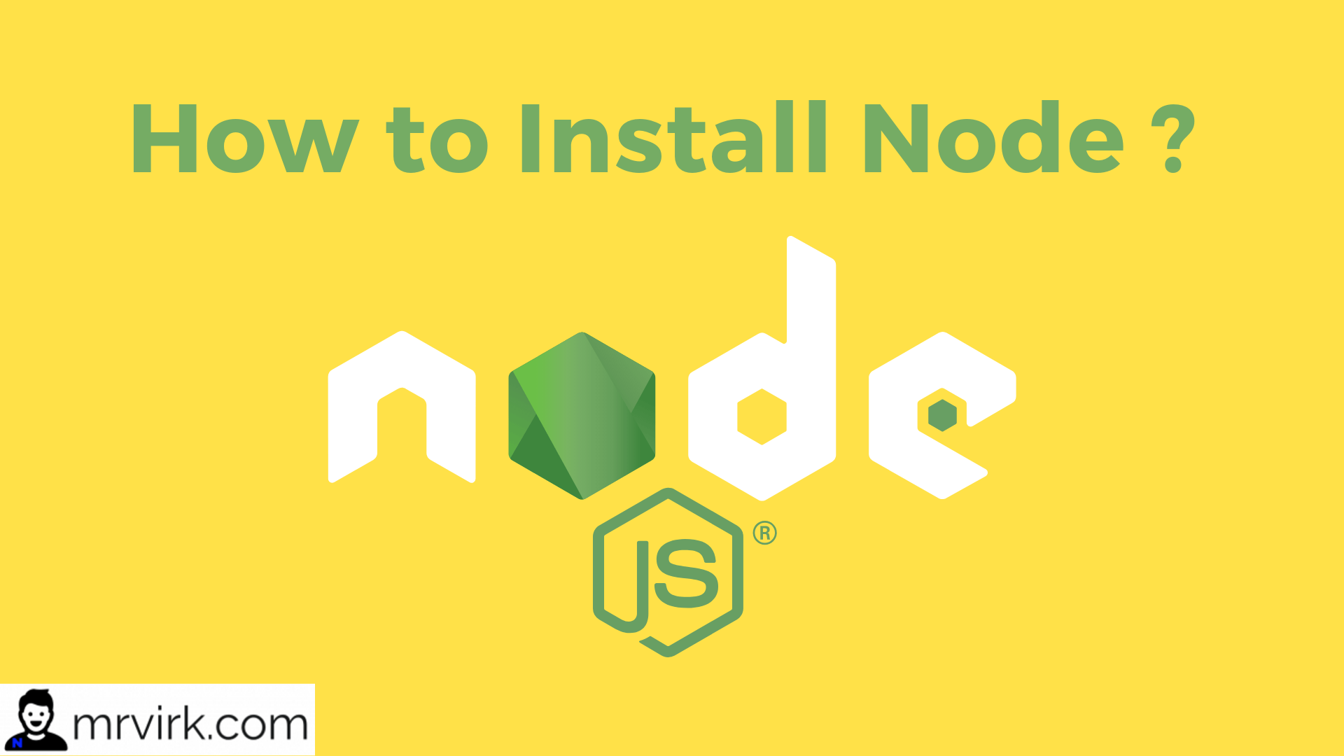 How to Install Node JS