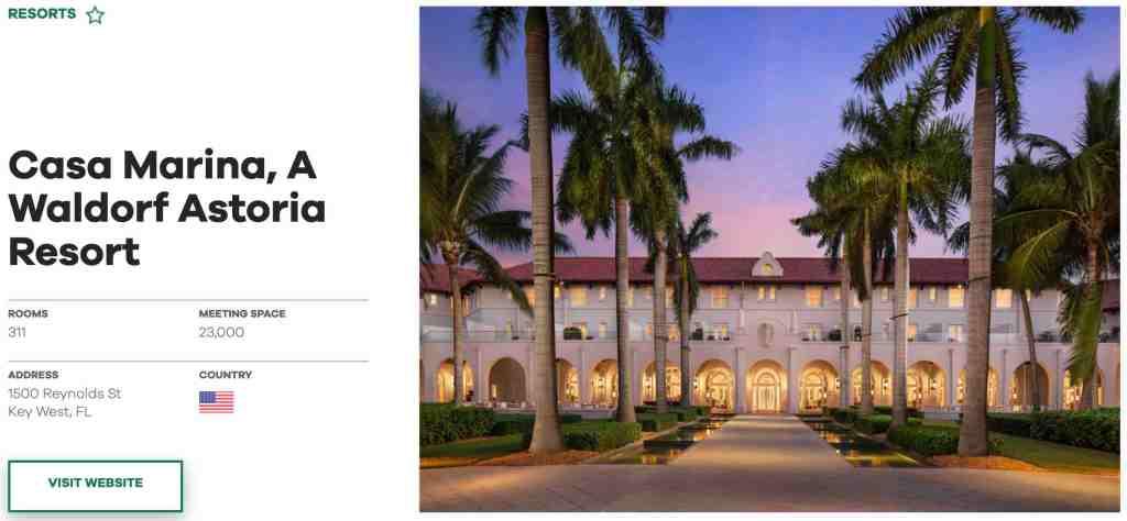Casa Marina, A Waldorf Astoria Resort - PK Stock & Real Estate Analysis