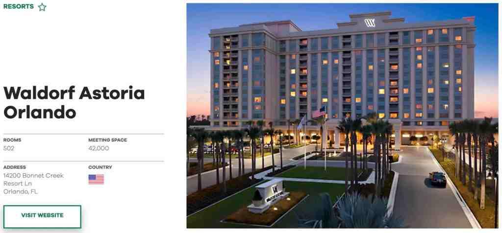 Waldorf Astoria Orlando - PK Stock & Real Estate Analysis