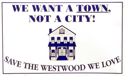 We want a town, not acity.