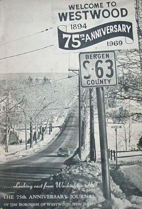 Westwood, NJ 75th Anniversary Journal.