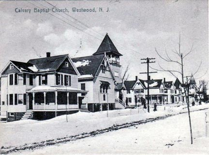 Winter in Westwood, circa 1906.