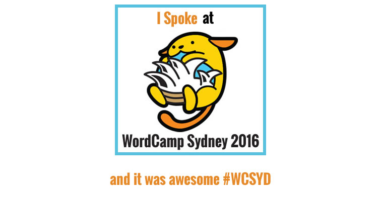 i spoke at wordcamp 2016