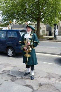 Guest Town Crier to announce us