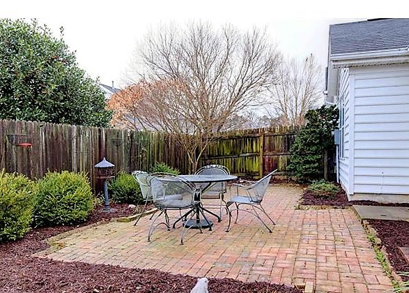 A typical backyard