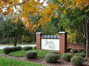 Entrance, brandon woods williamsburg va