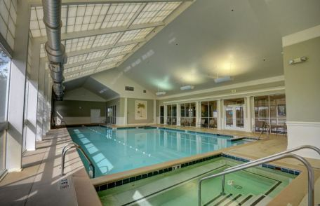 indoor pool and spa, colonial heritage, williamsburg va