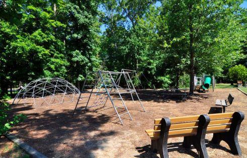 playground in berkeleys green neighborhood