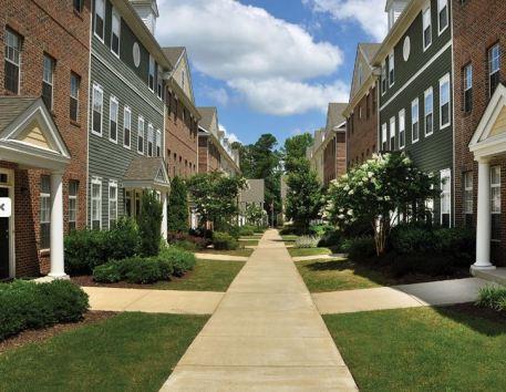 Apartments at New Town