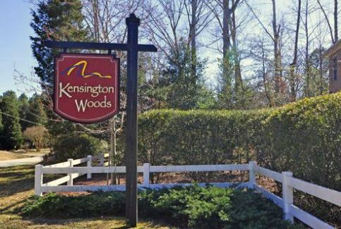 entrance kensington woods