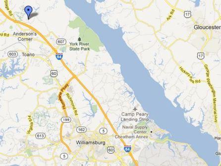 location map stonehouse glen