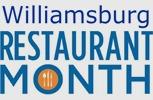 williamsburg restaurant month