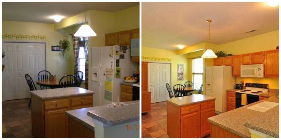 Staging before and after-Williamsburg VA