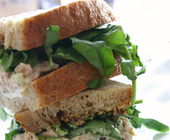 a legendary Cheese Shop Sandwich (Photo courtesy The Cheese Shop. Williamsburg VA