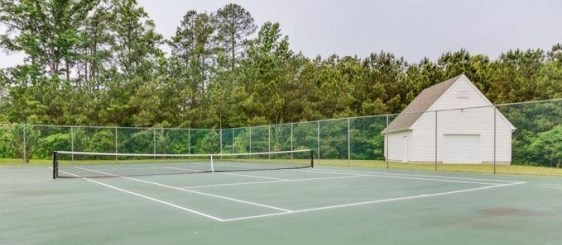tennis courts in Wmbg bluffs