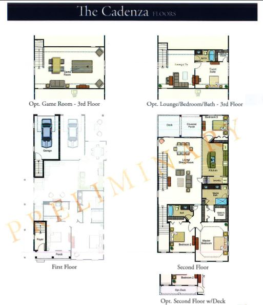 Cadenza Floor plan Promenade @5