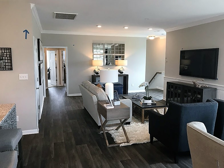interior of condo promenade at john tyler