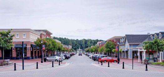 New Town, James City County VA