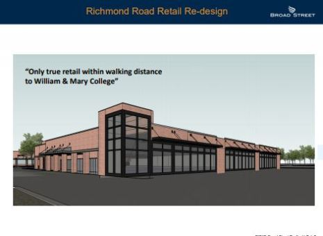 richmond road design plan the shops at midtown-williamsburg va