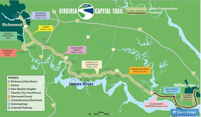 virginia capital trail