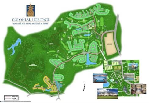 Colonial Heritage siteplan