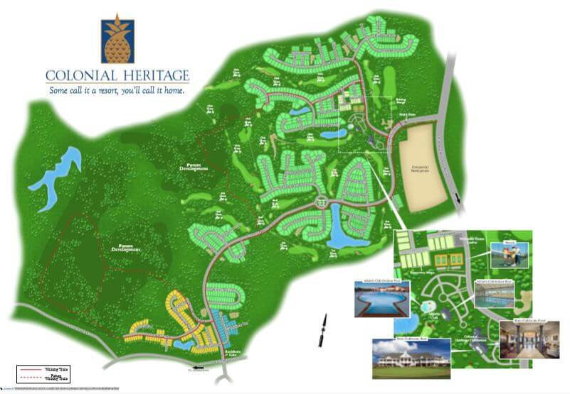 Colonial Heritage siteplan