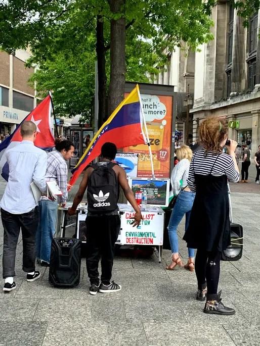 young communist activists