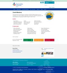 Screenshot of new CISWA.org Contributors page