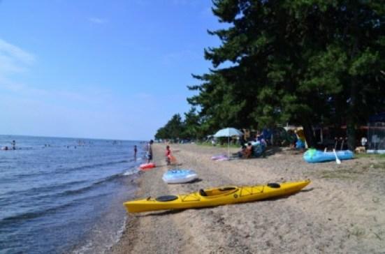 「マキノサニービーチ知内浜オートキャンプ場」の画像検索結果